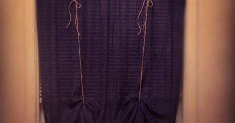 how to tie curtains that are too long curtain way too long tie it up home improvement