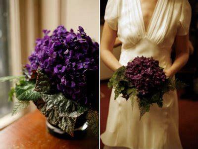 wedding bouquet violets violets bouquet wedding flower