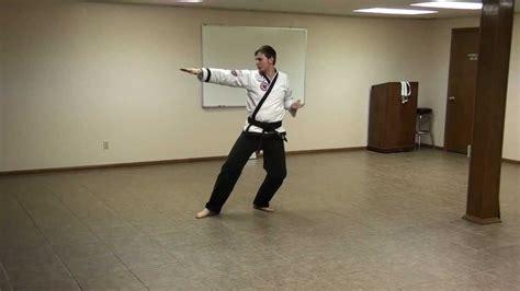youtube taekwondo pattern 2 do san pattern taekwondo orange belt youtube