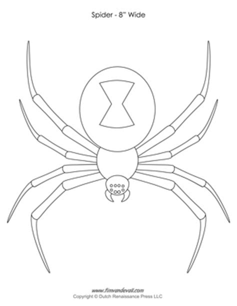 spider template spider templates decorations spider clip
