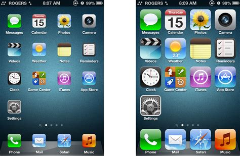 iphone icons iphone and change icon size jailbreak