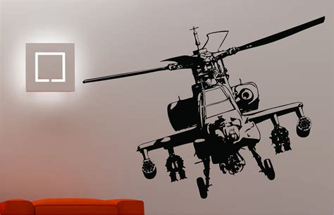 helicopter wall stickers army helicopter wall sticker bedroom childrens