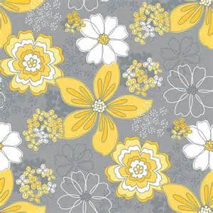 grey and yellow grey flower and yellow dot fabric gray and yellow floral fabric gray matters camelot by