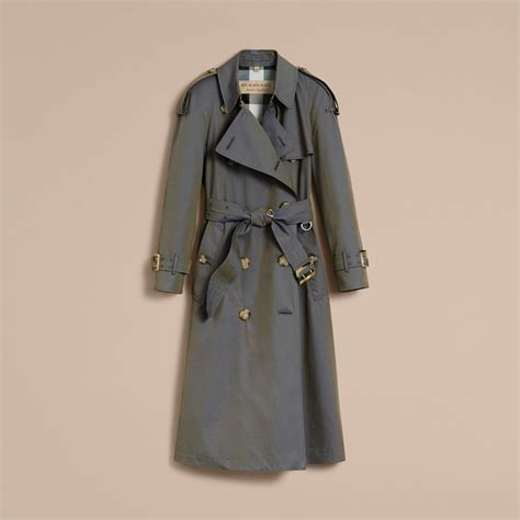 Tas Burberry Ribbon Set 2 In 1 Gold Series Jj 4725 1 tropical gabardine trench coat in blue burberry united states