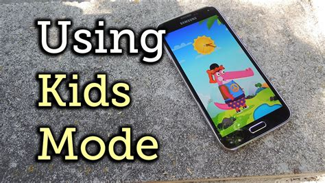 doodle kid safe mode enable mode on your galaxy s5 for safe use how to