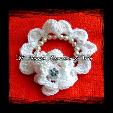 bracciale fiori bracciale fiori e perle gioielli bracciali e