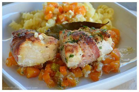 la recette du jour filets de poulet lard fum 233 et
