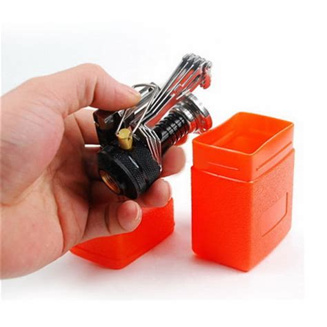 Ultralight Mini Gas Stove Kompor Gas Mini Ultralight portable outdoor backpacking cing stoves ultralight mini gas powered stove ebay
