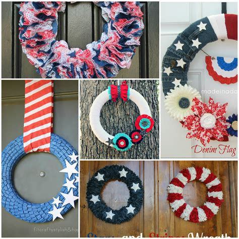 fourth of july diy 5 diy wreaths the 4th of july home stories a to z