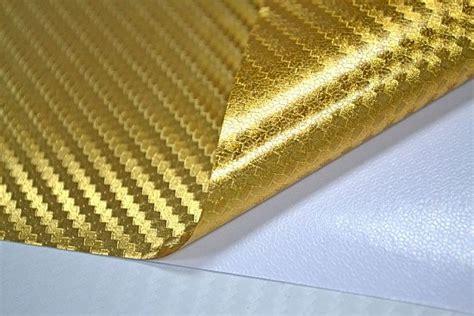 Autofolie Blasen Entfernen by 3d Carbon Chrom Gold Folie 30 X 152 Cm Blasenfrei
