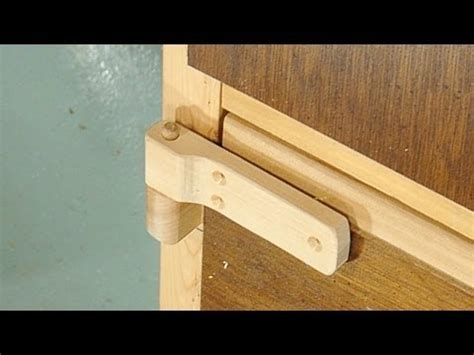 making wooden hinges youtube