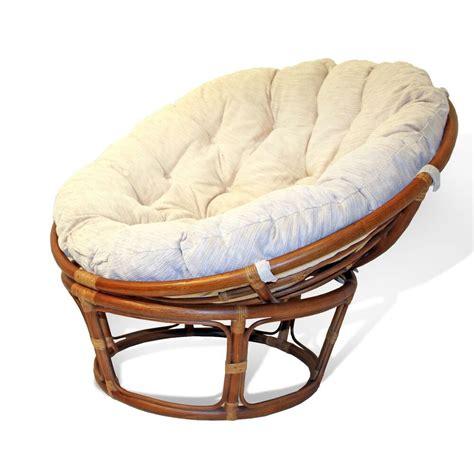 high quality class  handmade rattan wicker  papasan chair wcushion ebay