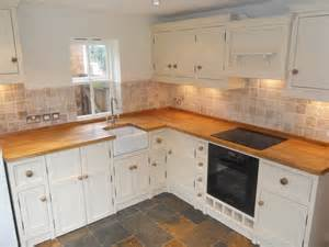 kitchens with belfast sinks kitchen with butchers block and belfast sink the olive branch kitchens ltd the olive branch