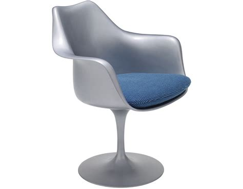 Saarinen Arm Chair Design Ideas Saarinen Platinum Tulip Arm Chair Hivemodern