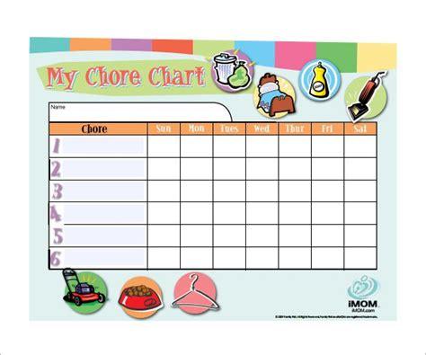 30 Weekly Chore Chart Templates Doc Excel Free Premium Templates Chore Calendar Template