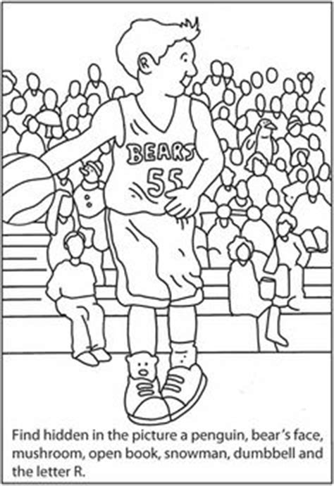 printable sports hidden pictures hidden pictures on pinterest dover publications puzzles