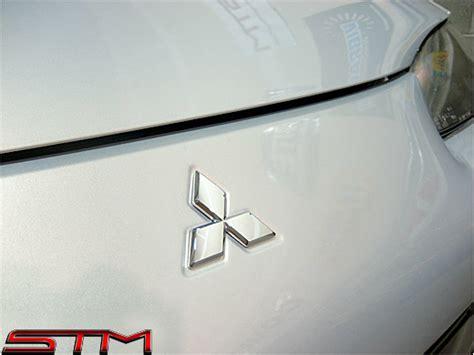 dsm mitsubishi logo stm oem mitsubishi chrome emblem mr971389