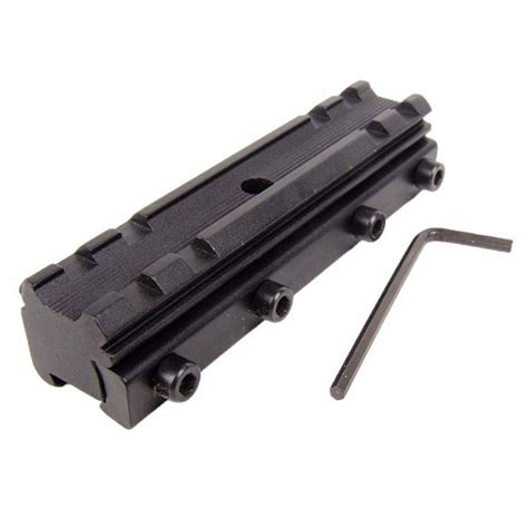 11mm To 20mm Dovetail To Rail Mount Base Adapter Scope Mount Yz0169 aluminum alloy 11mm dovetail to 20mm weaver picatinny rail base sight scope mount