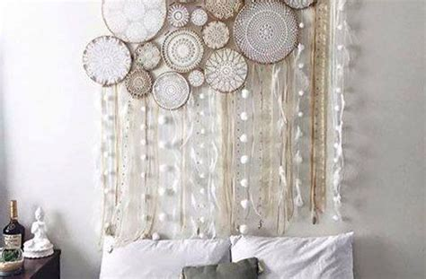 dream catcher headboard doily dream catchers the best collection of ideas doily