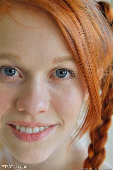 Dolly Little Young Redhead With Pigtails