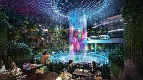 jewel  changi airport set  open singapore  world