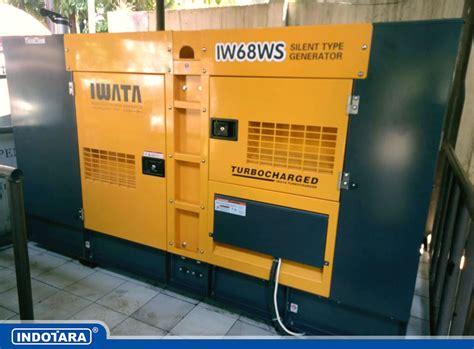 Genset Diesel Iwata 12kva Silent Iw12ws jual genset murah distributor genset terlengkap pt