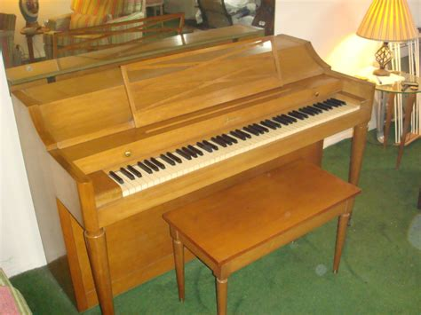 upright bench baldwin acrosonic mid century upright piano with bench