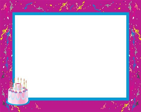 happy birthday photo frame template pin by debbie on happy birthday quotes