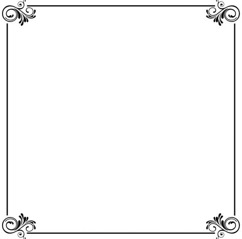 free card border templates wedding design card border chatterzoom