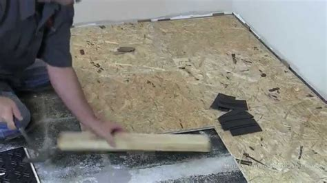 epoxy over plywood subfloor how to install basment subfloor tile system
