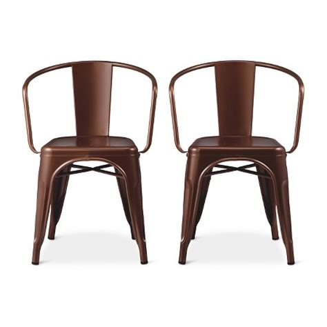 stool and dinette factory chandler carlisle low back metal dining chair target