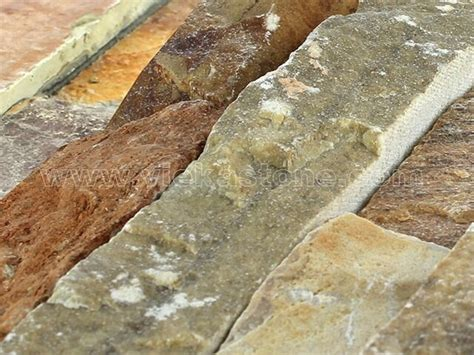 yellow quartz ledgstone veneer lp006 vieka stone co ltd