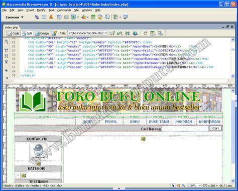 membuat website toko online dengan php skripsi e commerce program aplikasi toko online kasus