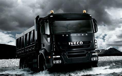 Iveco Car Wallpaper Hd by Desktop Wallpaper Black Iveco Truck Desktop Wallpaper