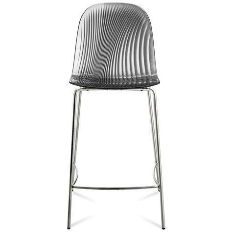 zuri bar stools chrome frame smoke bar stool zuri furniture