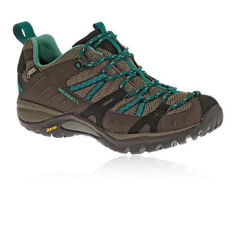 merrell siren womens brown tex waterproof walking