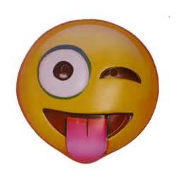 Emoji Mask Winking Tongue Out Emoji Mask 365771 Trendyhalloween Com