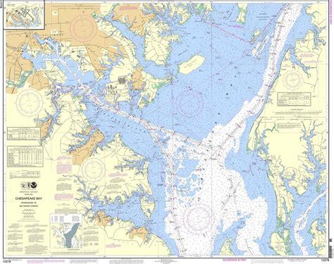 chesapeake bay noaa chart 12278 chesapeake bay approaches to baltimore harbor