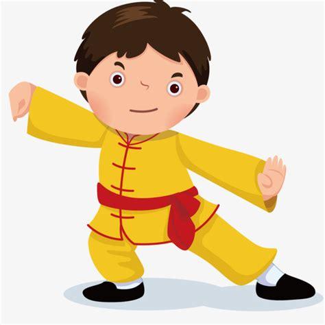 Kungfu Boy learn kung fu boy vector kongfu wushu martial