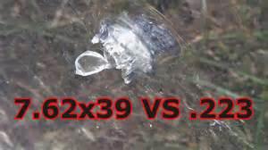 pubg 7 62 vs 5 56 7 62x39 vs 223 5 56 vs bulletproof glass youtube