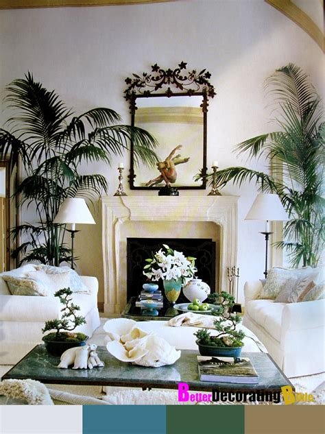 Palm Tree Decor For Living Room by Seymour Bedroom Furniture