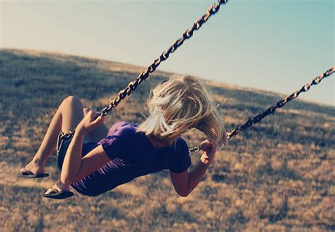 freedom swing blond freedom girl pretty swing image 206199 on