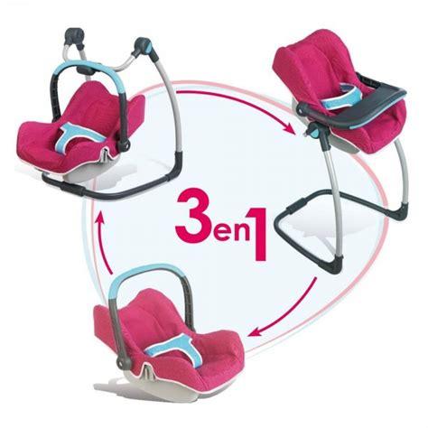 cosy chaise haute pour poup 233 e b 233 b 233 confort jeux