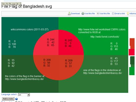 bd colors file alternate colors bangladesh flag png wikimedia commons
