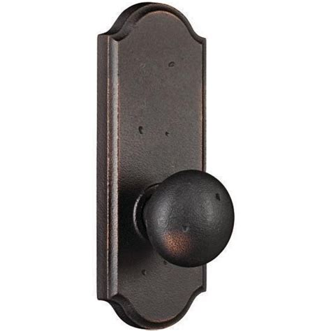 Door Knobs With Backplates by Weslock Wexford Molten Bronze Door Knobs With Sutton Backplate