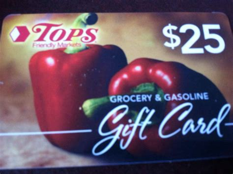 Tops Gift Card Deals - update we have a winner 25 tops gift card