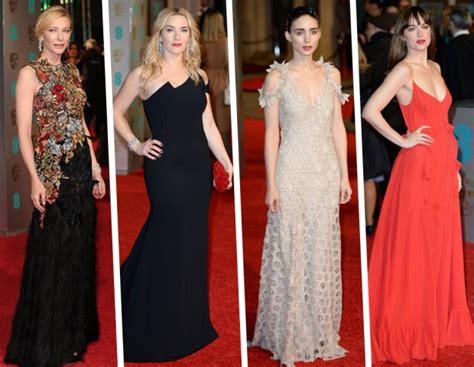 bafta 2016 red carpet i look delle dive bafta 2016 gli abiti delle star sul red carpet tu style