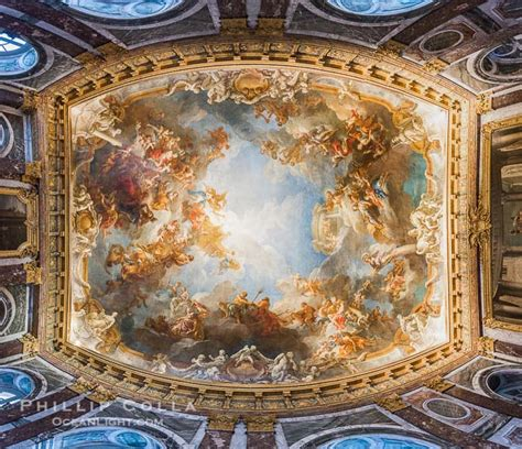 ceiling art chateau versailles ceiling paintings natural history