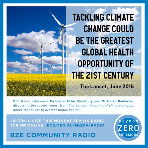 modern how medicine changed the end of books health and climate change 3cr community radio
