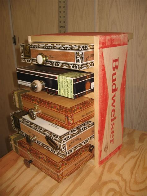 Cigar Box Drawers by Crafted Cigar Box Chest Of Drawers Jewelry Box And